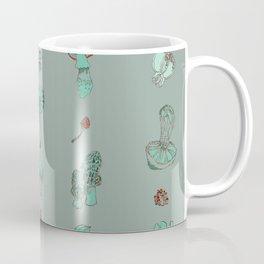 Misty Fungal Mushroom Fungus Watercolor Agaric Morel Coffee Mug