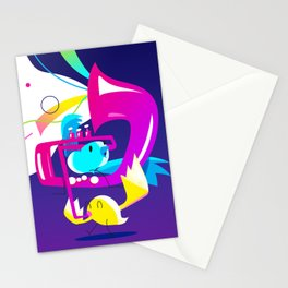 Birds a chripin' Stationery Cards