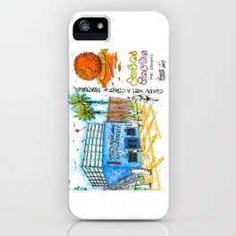Cloudy With A Chance of Meatballs Motiongate Theme Park Dubai iPhone Case