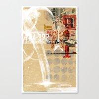 minnesota Canvas Prints featuring MINNESOTA BOPPER by michael pfister