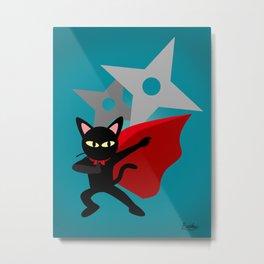 The hero came Metal Print