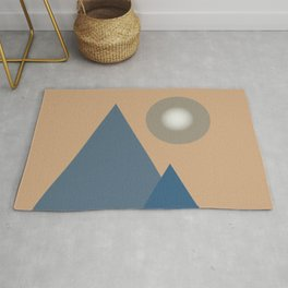 Blue mountains Rug