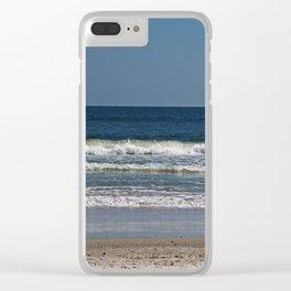Ocean Oscillation Clear iPhone Case