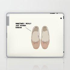 Sometimes I Really  Just Wanna  Scream Laptop & iPad Skin