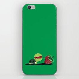 Strawberry Turtle iPhone Skin
