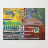 car Canvas Prints featuring Car by Fernando Vieira
