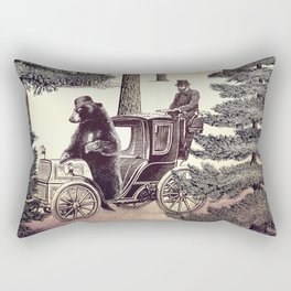 Two Gentlemen in the Forest Rectangular Pillow