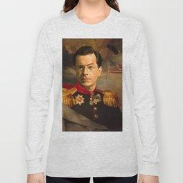 Stephen Colbert 19th Century Classical Painting Long Sleeve T-shirt