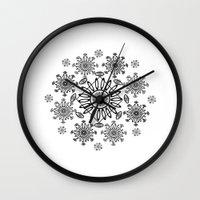 zen Wall Clocks featuring Zen by Marie Mirbekian(JM)