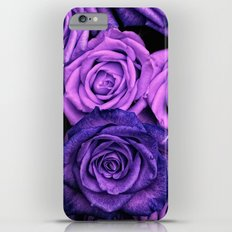 Purple Roses iPhone 6 Plus Slim Case