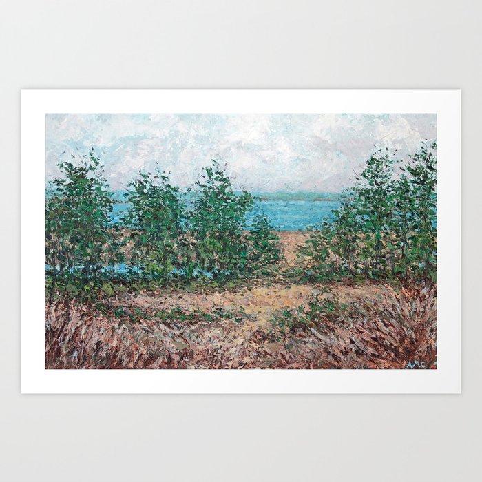 North Bay Art Print