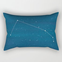 Aries zodiac constellation Rectangular Pillow