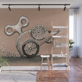 squeak Wall Mural