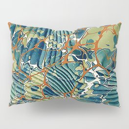 Old Marbled Paper 05 Pillow Sham