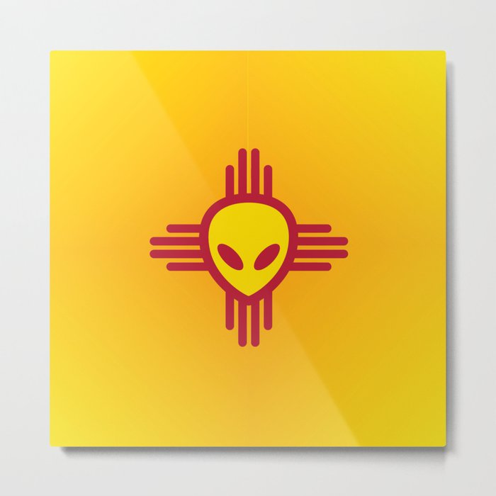 Roswell New Mexico Metal Print