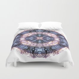 286 - Abstract tree branch sphere Duvet Cover