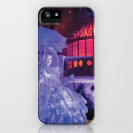 Madame Carlotta of the Haunted Mansion Front Yard iPhone Case