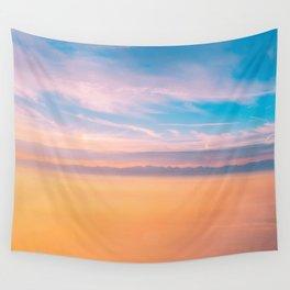 Romantic sky Wall Tapestry
