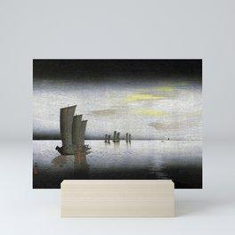 12,000pixel-500dpi - Ohara Koson - Top Quality Art - Yacht Mini Art Print