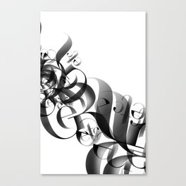 flow II Canvas Print