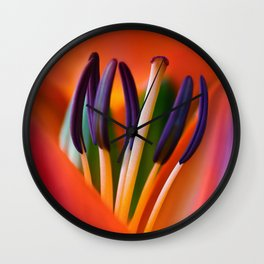 Lily 11 Wall Clock