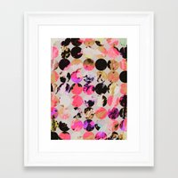 circles Framed Art Prints featuring Circles by Georgiana Paraschiv