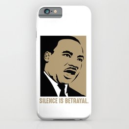 Martin Luther King Jr Day Quote MLK iPhone Case
