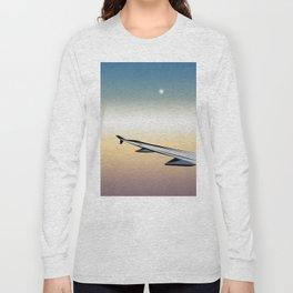 Airplane Views #1 Long Sleeve T-shirt