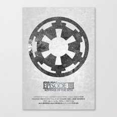Star Wars - Revenge of the Sith (with Background) Canvas Print