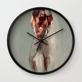 Stretch Wall Clock