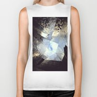 mirror Biker Tanks featuring mirror by Nat Alonso