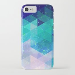 Geometric and electric iPhone Case