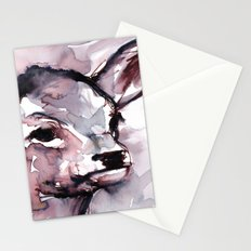 Fawn, Watercolor Stationery Cards