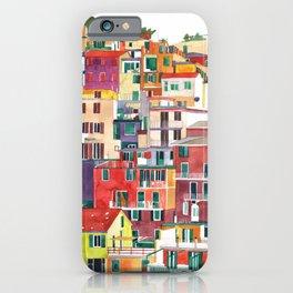 Cinque Terre iPhone Case