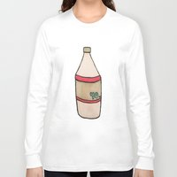 oz Long Sleeve T-shirts featuring 40 oz by Danzig Haley