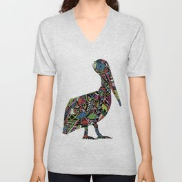 Shafted Pelican Unisex V-Neck