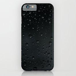 Rain Black iPhone Case