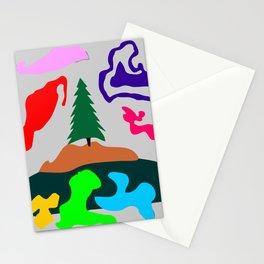 Grayed Limbo Stationery Cards