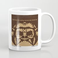 planet of the apes Mugs featuring No270 My PLANET OF THE APES minimal movie poster by Chungkong