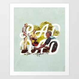 Rad Dad II Art Print