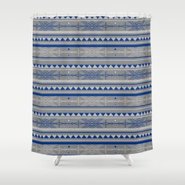 Bohemian Arrow Pattern Shower Curtain