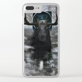 Spirit in the Marshes Clear iPhone Case