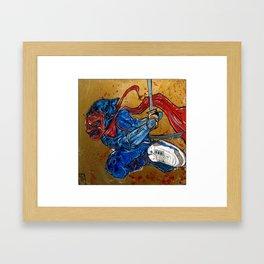 demon 3 Framed Art Print