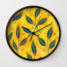 connected to nature Wall Clock
