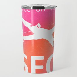 SFO San Francisco Travel Mug