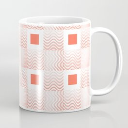 Rachel's Wavy Coral Pattern Coffee Mug