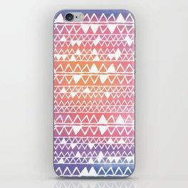 Sunset tribal iPhone Skin