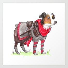 DogDays19 Thor Art Print