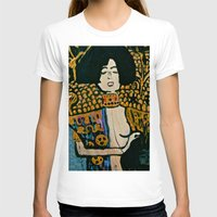 klimt T-shirts featuring Judith - Ode to Klimt  by LadyJennD