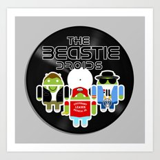 The Beastie Droids Art Print